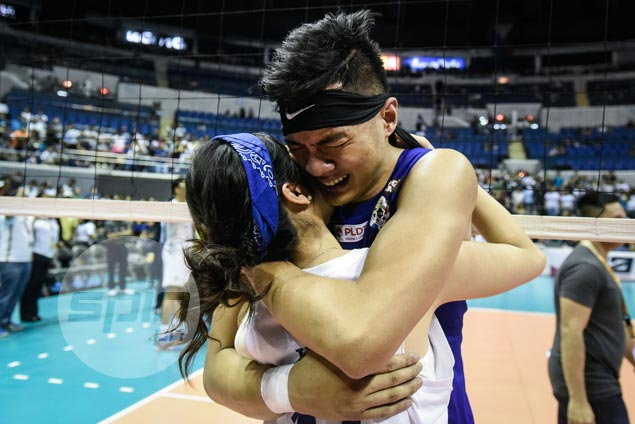 Extra special season for Rex Intal as he ends college career with three titles capped by sweep