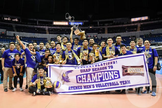 Ateneo rallies past NU to sweep UAAP finals and cap perfect season with third straight crown