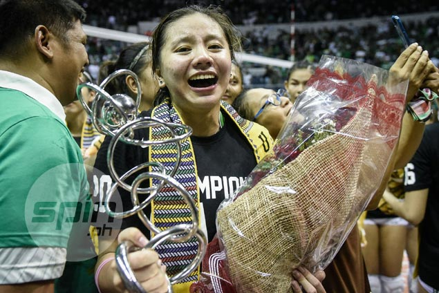 Des Cheng suprised to win Finals MVP but gets full support from La Salle coach Ramil de Jesus