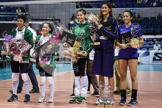 Gracious Jaja Santiago says 'hardworking' Majoy Baron deserves UAAP MVP award