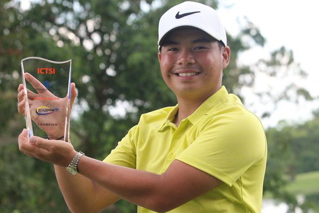 Great comeback as Miguel Tabuena erases seven-shot deficit to win at Luisita in sudden-death