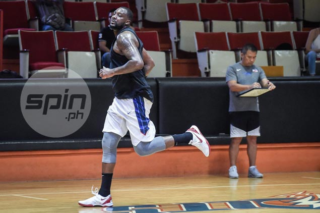 After repeated delays, Andray Blatche finally arrives to join Gilas buildup for Seaba