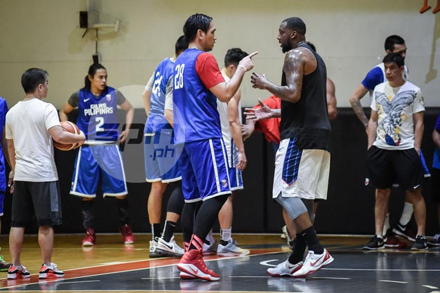Chot Reyes says it's time to 'stop talking, start working' as Andray Blatche finally on board