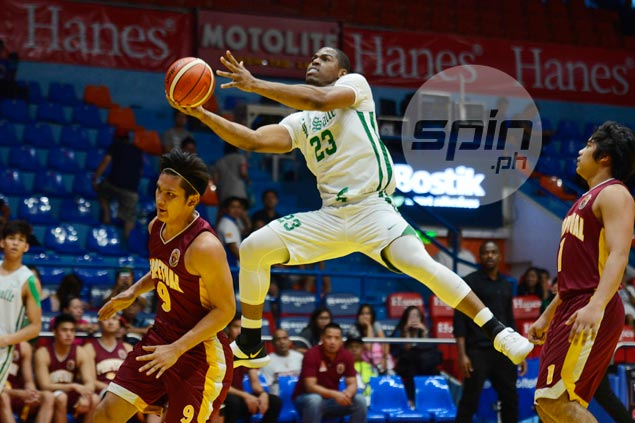 Mbala, La Salle bounce back with a vengeance from stunning loss, routs Perpetual