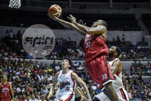 Justin Brownlee rescues Ginebra again with late three-point play against Alaska