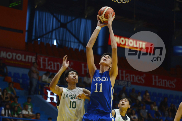 Kai Sotto, Dave Ildefonso lead Blue Eaglets to romp over La Salle in Milcu face-off
