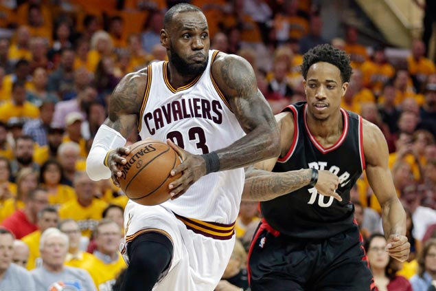 At 32 and logging high mileage, LeBron James may be playing best basketball of career