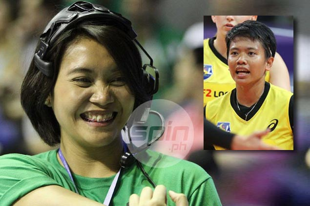 'Tyang' Aby Marano ready to guide Kim Fajardo in next step of volleyball career