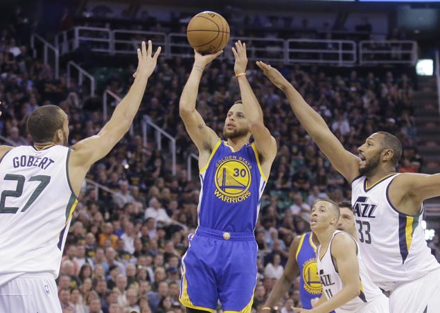 Warriors march on to conference finals with sweep of Jazz