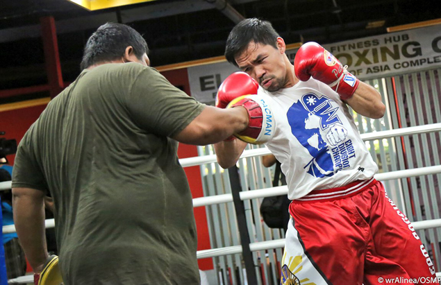 Pacquiao says KL bout vs WBA welterweight champ Matthysse a done deal for July 15