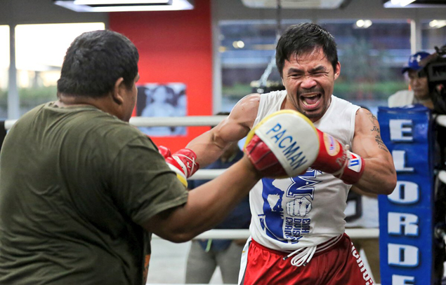 Pacquiao shakes off rust from six-month layoff, begins buildup for Horn fight