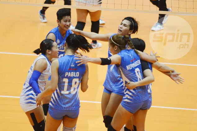 Pocari Sweat clobbers Perlas Spikers to make it back-to-back wins after slow start in PVL