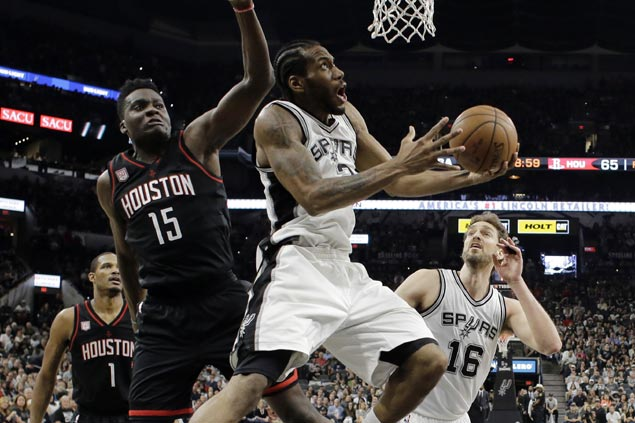 Kawhi Leonard brushes off ankle injury, vows he'll be ready to play in Game 6
