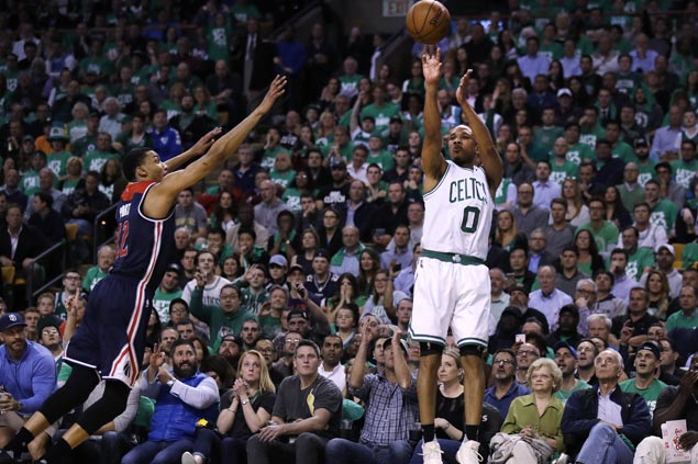 Avery Bradley takes charge as Celtics wrest control of series, 3-2, after rout of Wizards