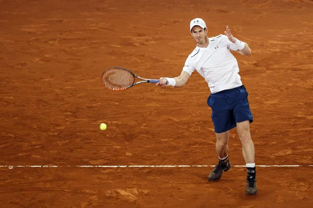 Top-ranked Andy Murray falls as Nadal, Djokovic advance to Madrid Open quarterfinals