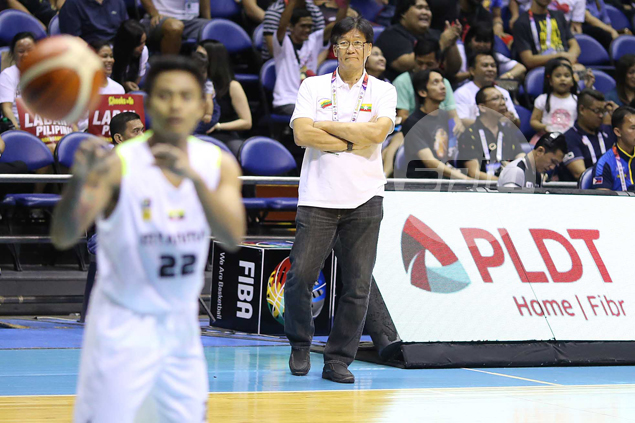 Myanmar coach takes pride in inexperienced squad's effort despite brutal beatdown from Gilas