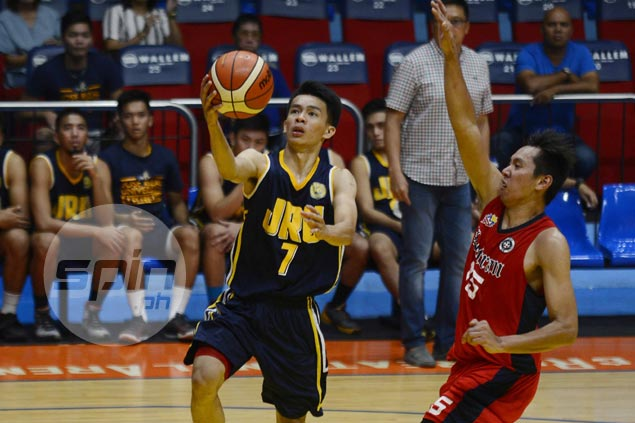 JRU weathers late Letran rally to keep slate unblemished in Premier Cup