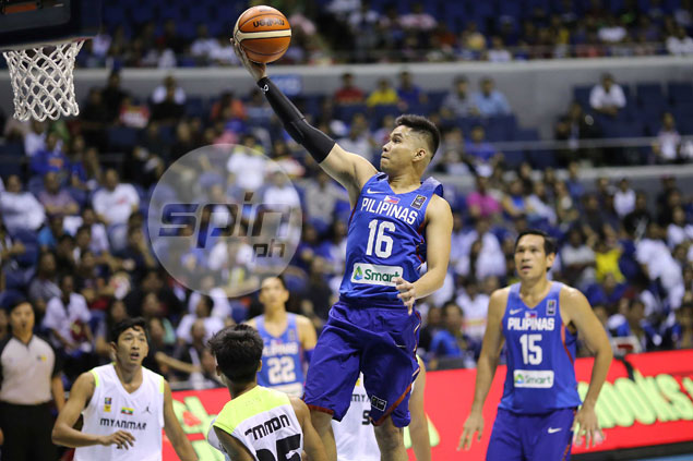 Roger Pogoy typifies Gilas Pilipinas' all-business approach vs Myanmar