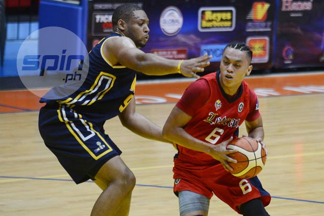 New-look Rey Nambatac says Letran's three-game slump a learning experience for young Knights