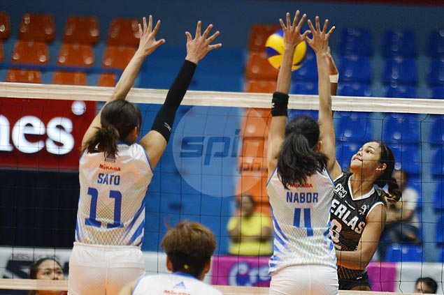 Perlas gets back on track with five-set win over erstwhile unbeaten Balipure
