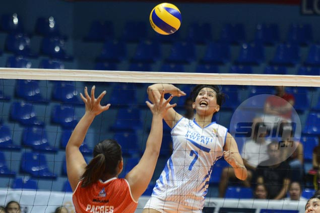 Pocari Sweat rips shorthanded Power Smashers for fourth straight win in PVL