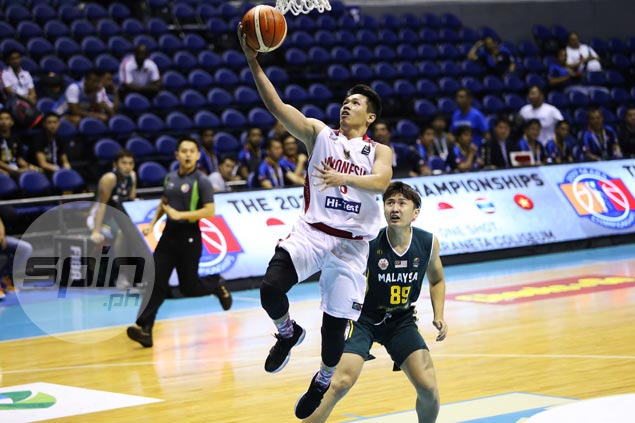 Indonesia pulls away late against Malaysia to join next foe Thailand atop SEABA standings