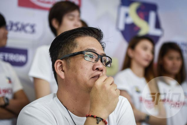 Rebisco-PSL coach Francis Vicente keeps modest expectations in Asian Women's Club tilt