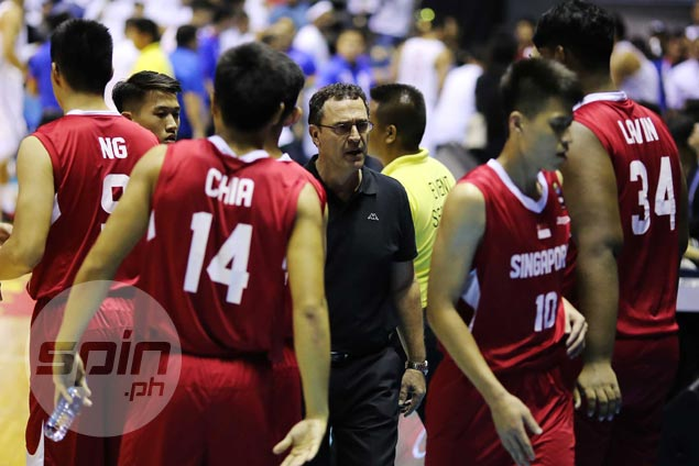 Singapore's Australian coach Franco Arsego looking to get even against Gilas in FIBA World Cup qualifiers
