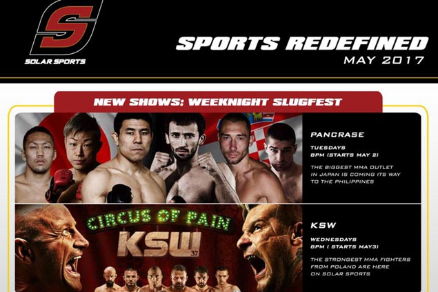 Pacquiao-Horn fight, extreme sports highlight revamped Solar programming