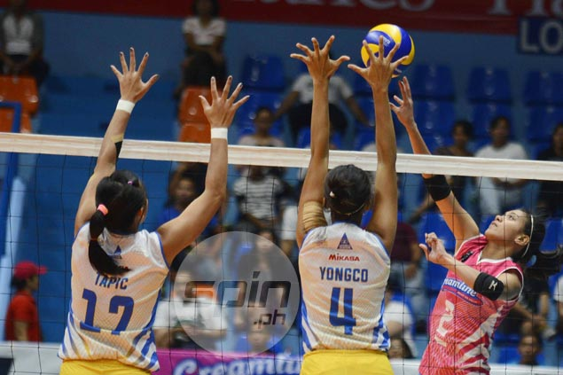 Alyssa Valdez plays through injury to lift Creamline over Air Force in thriller and snap skid in PVL