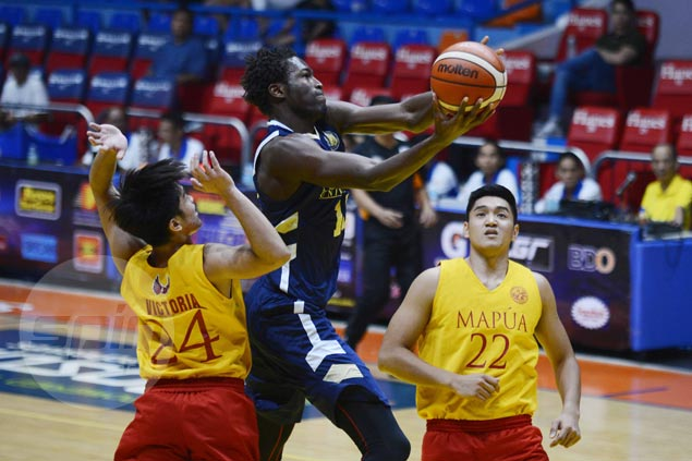 NU Bulldogs nearly blow big lead, hold off winless Mapua Cardinals