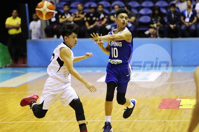 Rence Padrigao grabs share of spotlight as Batang Gilas gets off to strong start in Seaba U16