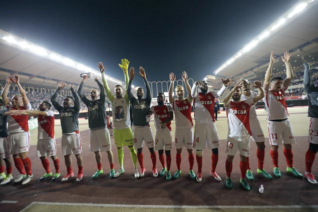 Monaco effectively seals Ligue 1 title as Radamel Falcao scores brace in rout of Lille