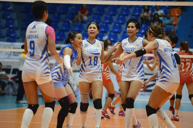 Pocari Sweat looks to stretch win streak to five as Lady Warriors take on Perlas Spikers