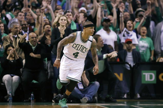 Oft-doubted Isaiah Thomas finds validation as Celtics get shot at Cavs in East finals
