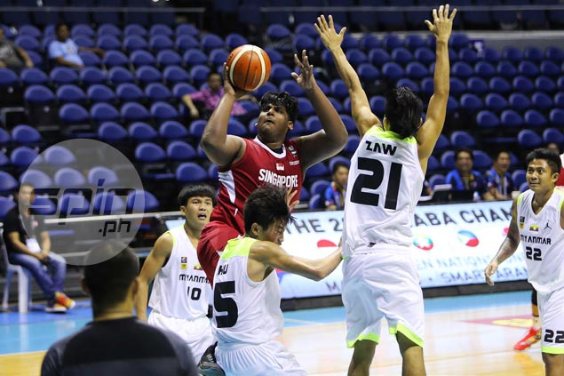 Teen star Lavin Raj provides spark off bench as Singapore smothers Myanmar for first Seaba win
