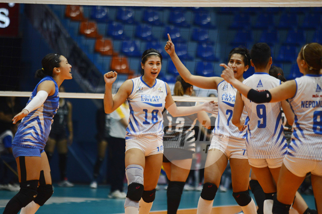 Myla Pablo saves day as Pocari Sweat averts collapse against Perlas in PVL thriller