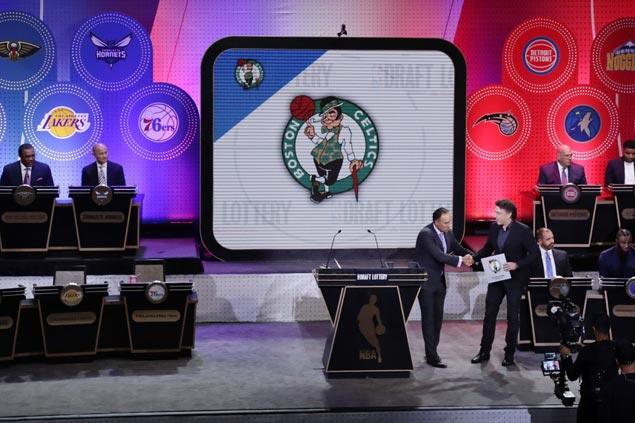 A boost for already soaring Celtics, a glimmer of hope for Lakers after draft lottery