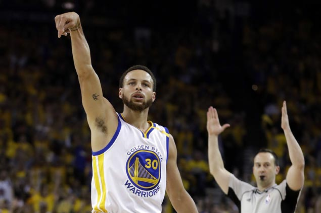 Warriors take control of conference finals with wire-to-wire victory over undermanned Spurs
