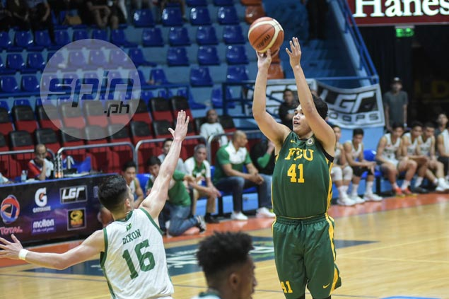 Hot-shooting Hubert Cani leads FEU in fending off late CSB rally for winning debut in Premier Cup