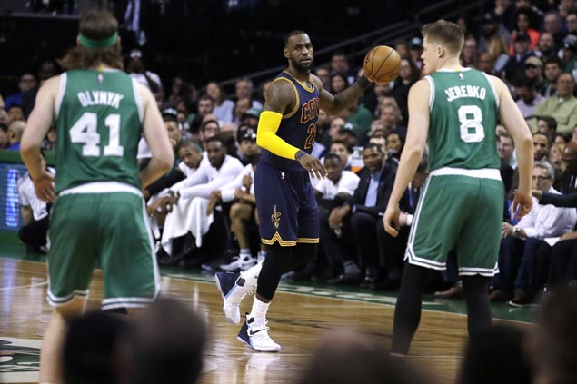 LeBron James throws subtle jab with shirt choice as Cavs star renews personal rivalry vs Celtics