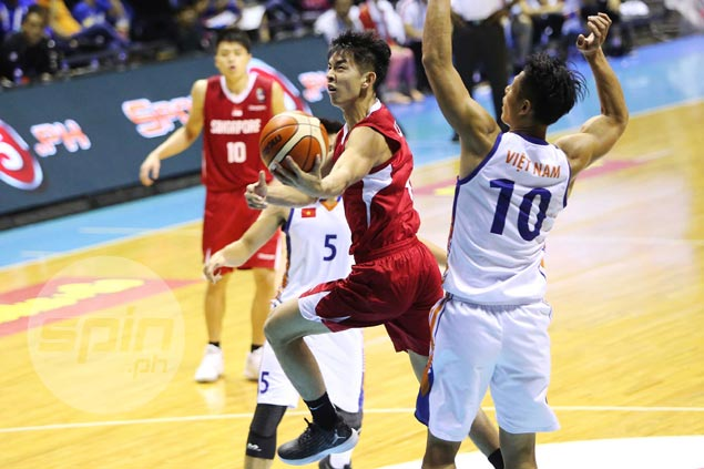 Singapore pulls away late against Vietnam to end Seaba stint on winning note