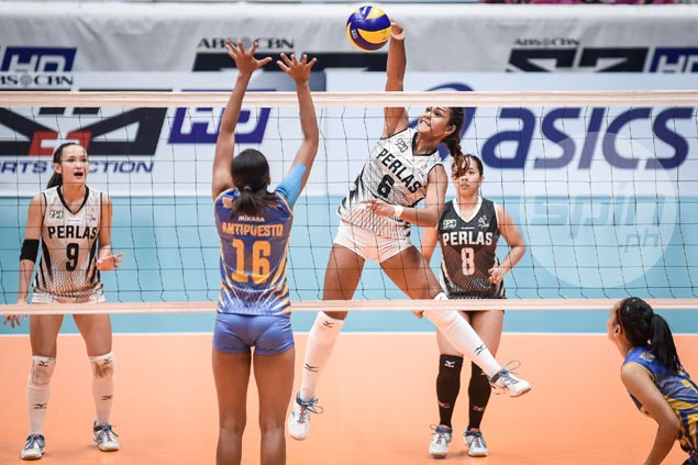 Perlas Spikers sit imports anew but prove strong enough to wallop struggling Air Force