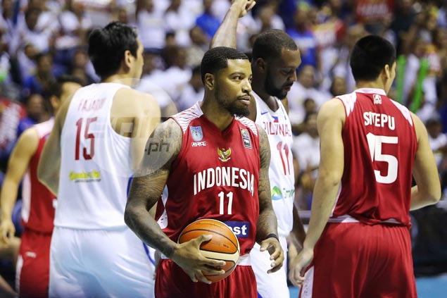 Naturalized player Jamarr Johnson admits beating Gilas an 'impossible' task for Indonesia