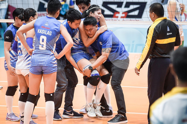 X-rays clear Myla Pablo of any major injury, but Pocari to sit ace hitter for rest of PVL elims
