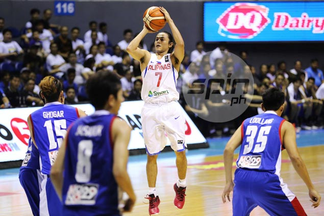 Gilas guard Terrence Romeo frustrated not to be in top shape for Seaba mission