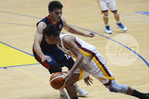 Gab Dagangon sinks go-ahead basket as Perpetual nabs first win with OT squeaker over Letran