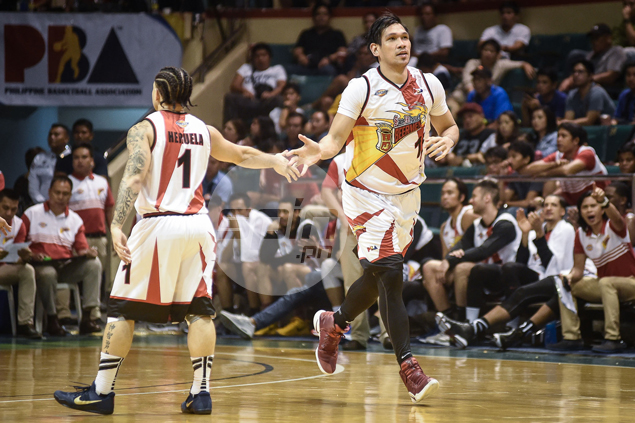 A day after Gilas stint at Seaba, June Mar Fajardo adjusts to slower pace in PBA