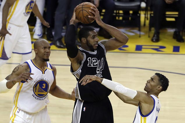 LaMarcus Aldridge looks to make swarming Warriors defense pay in lead role for ailing Spurs