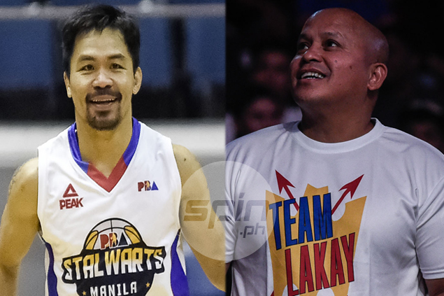 Pacquiao vs Bato? Senators, judges, generals show off hoops skills in UNTV Cup Face-Off